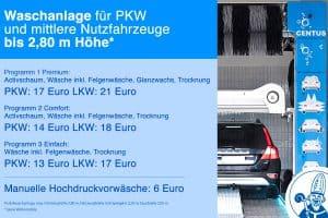 Preisliste Waschanlage Autohaus Bischoff GmbH Neumünster