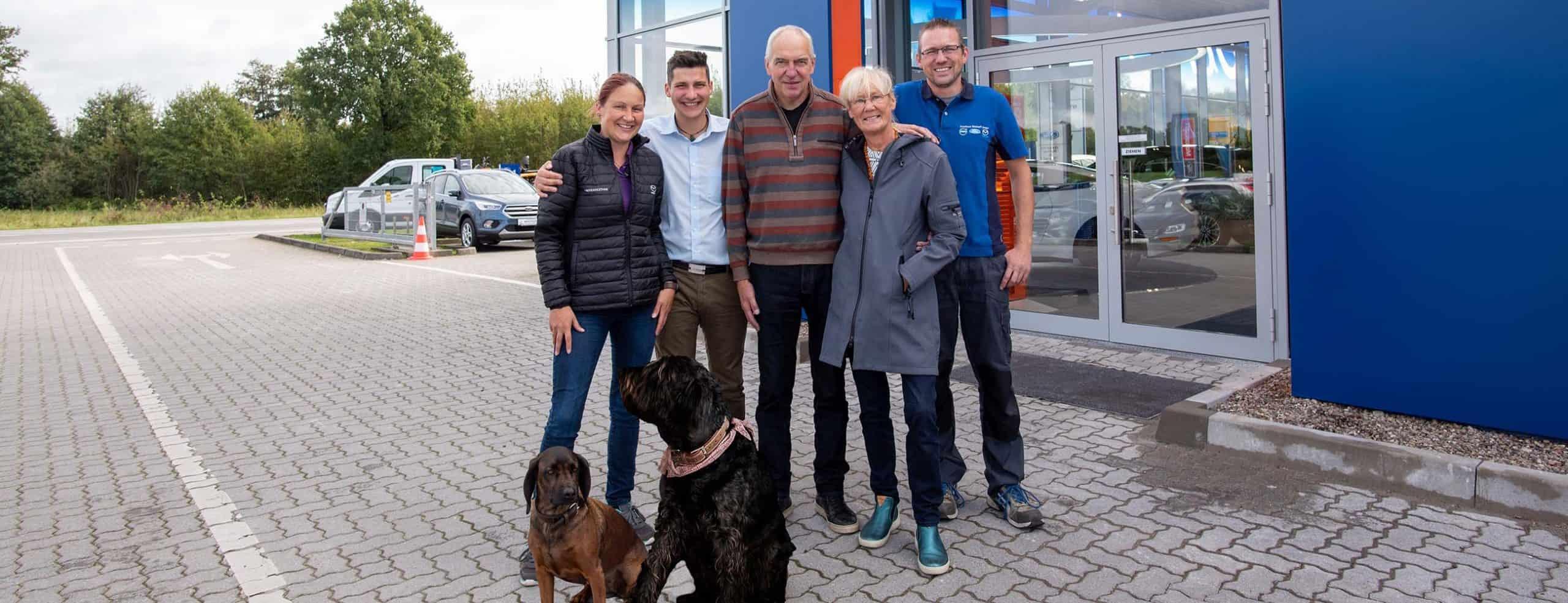 Familie Sirocko Autohaus Bischoff Neumünster